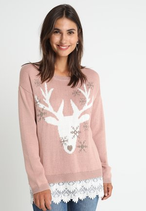REINDEER - Jumper - blush powder