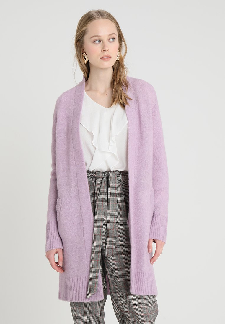 Cream - ZOEY LONG CARDIGAN - Strickjacke - lavender purple