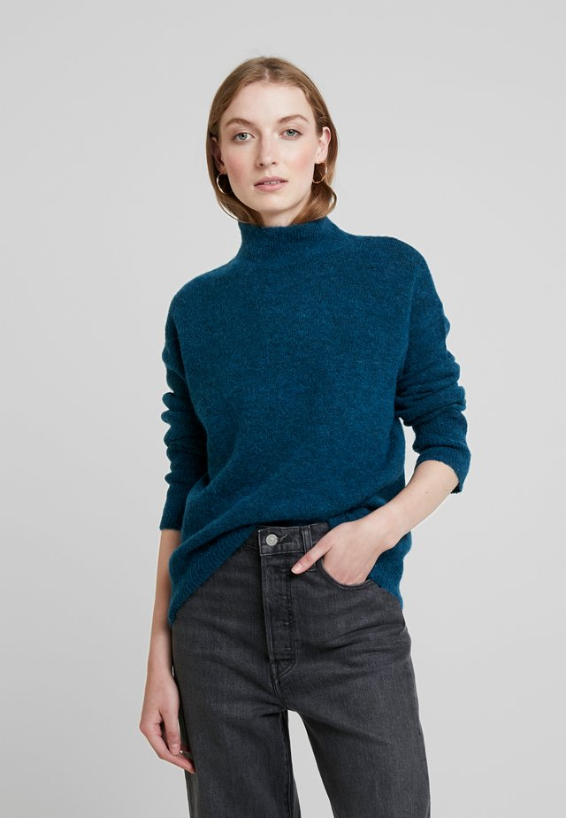 KAITLYN - Stickad tröja - ocean blue
