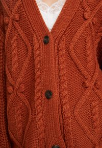 Cream - ANDREA CARDIGAN - Kardigan - ginger bread - 4