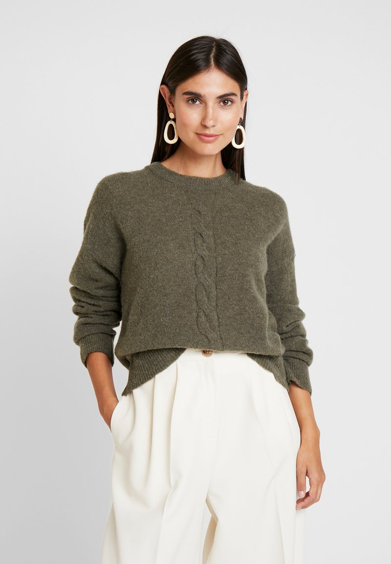 Cream - MYNTHE - Jumper - sea green