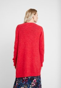 Cream - KAITLYN SOLID CARDIGAN - Vest - red - 2