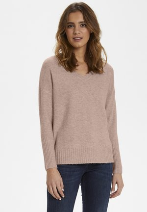 AMELIA  - Jumper - rose dust melange