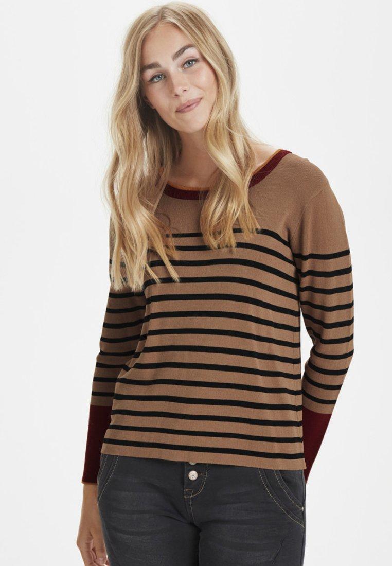Cream - CELINA - Sweater - black