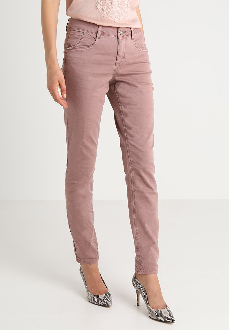 Cream - LOTTE COCO - Slim fit jeans - old rose
