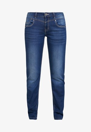 KAMMACR COCO - Slim fit jeans - denim blue