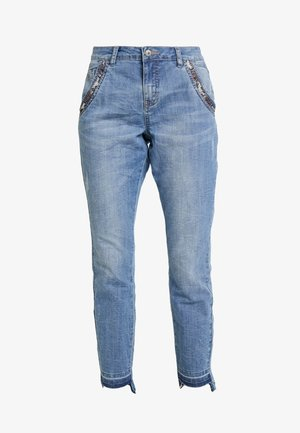HANNACR BAIILY FIT - Slim fit -farkut - light blue denim