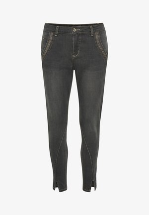 CREAM HOLLACR - BAIILY FIT - Jean slim - pitch black