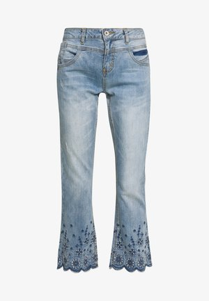 BOLETTECR SHAPE FIT - Jean flare - light blue