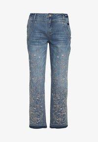 Cream - SAVANNA BAIILY - Jeans baggy - denim blue - 0