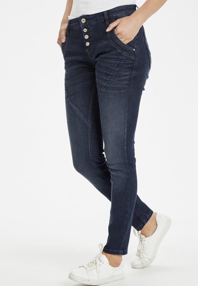BAIILY POWER STRETCH  - Jeans slim fit - dark blue denim