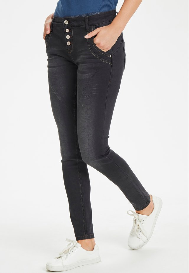 BAIILY POWER STRETCH  - Slim fit jeans - black denim