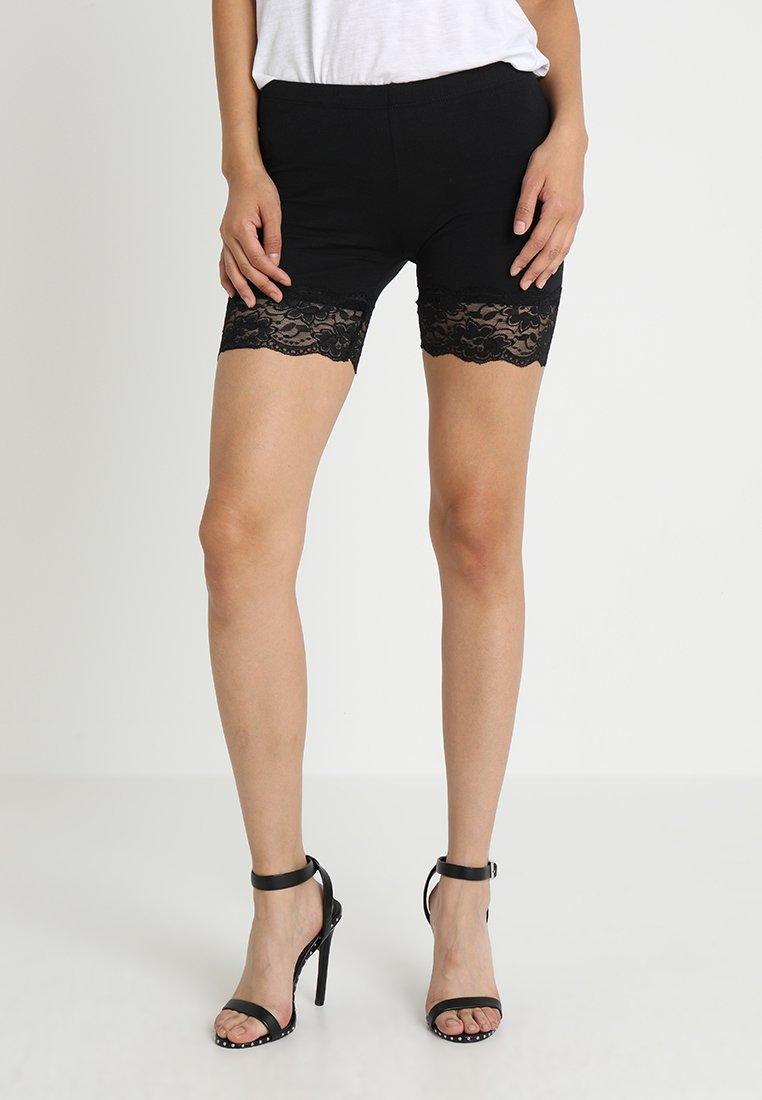 Cream - MATILDA BIKER - Shorts - pitch black