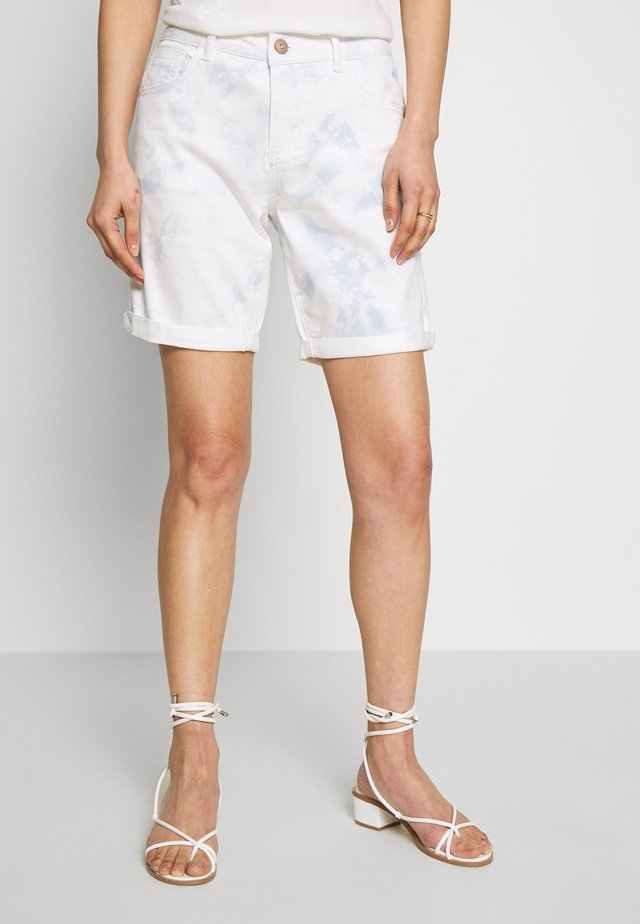 VIVIAN TWILL COCO FIT - Jeans Short / cowboy shorts - baby blue