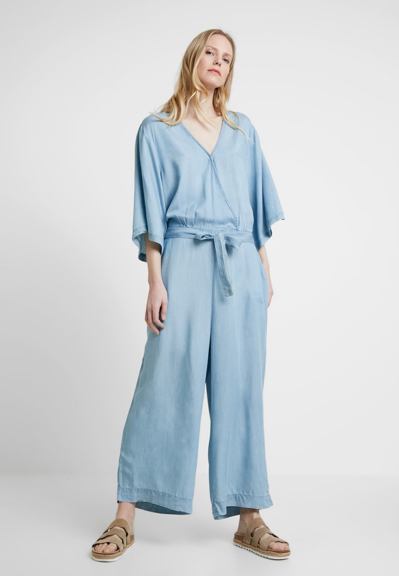 Cream - BELLO - Jumpsuit - light blue denim