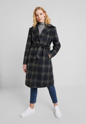 CHEKIA COAT - Classic coat - pitch black