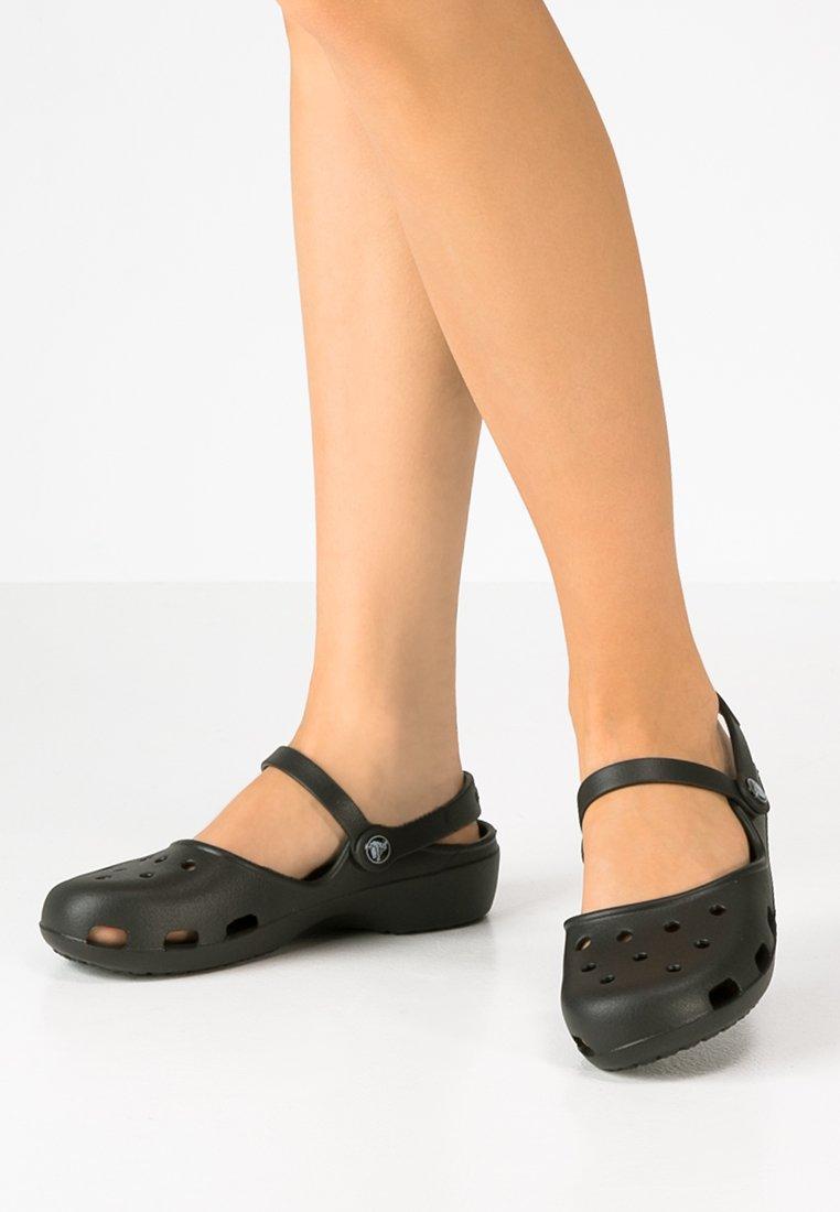 Crocs - KARIN - Badesandaler - black