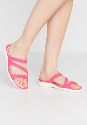 SWIFTWATER - Badslippers - paradise pink/white