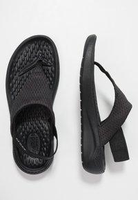 Crocs - LITERIDE MESH - Varvassandaalit - black - 3