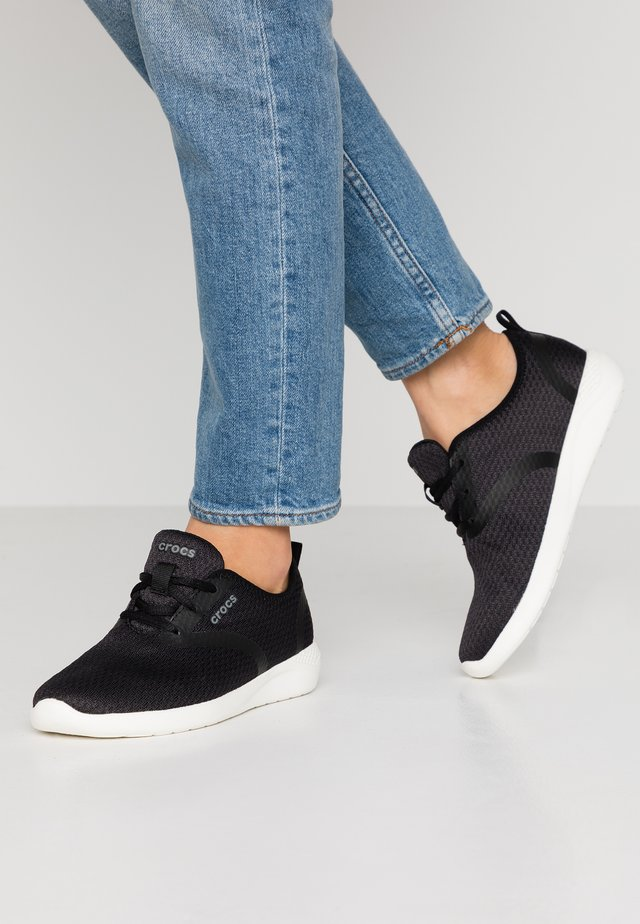 LITERIDE LACE  - Sneaker low - black/white