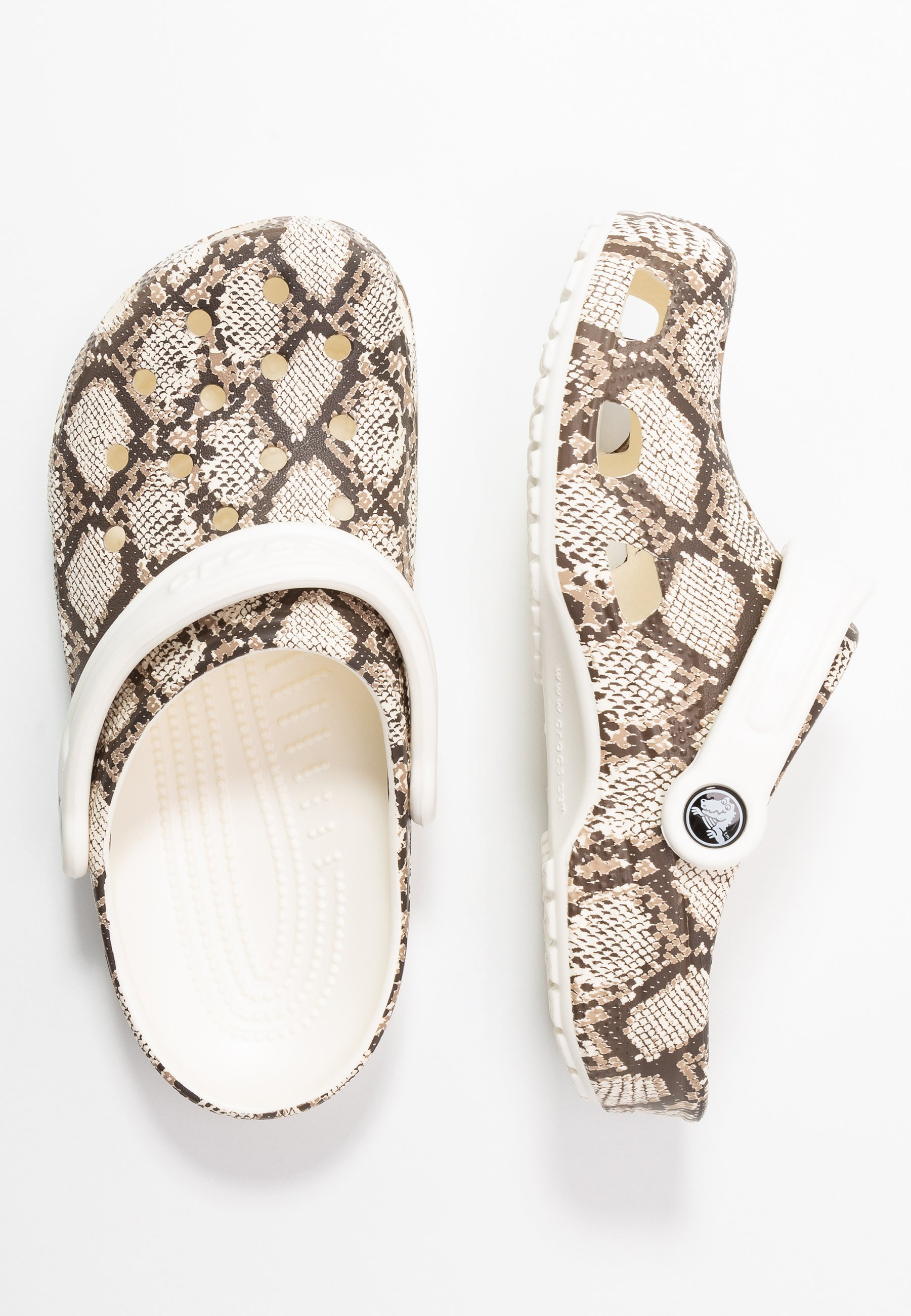 Crocs Classic Snake Print - Mules Oyster/mushroom
