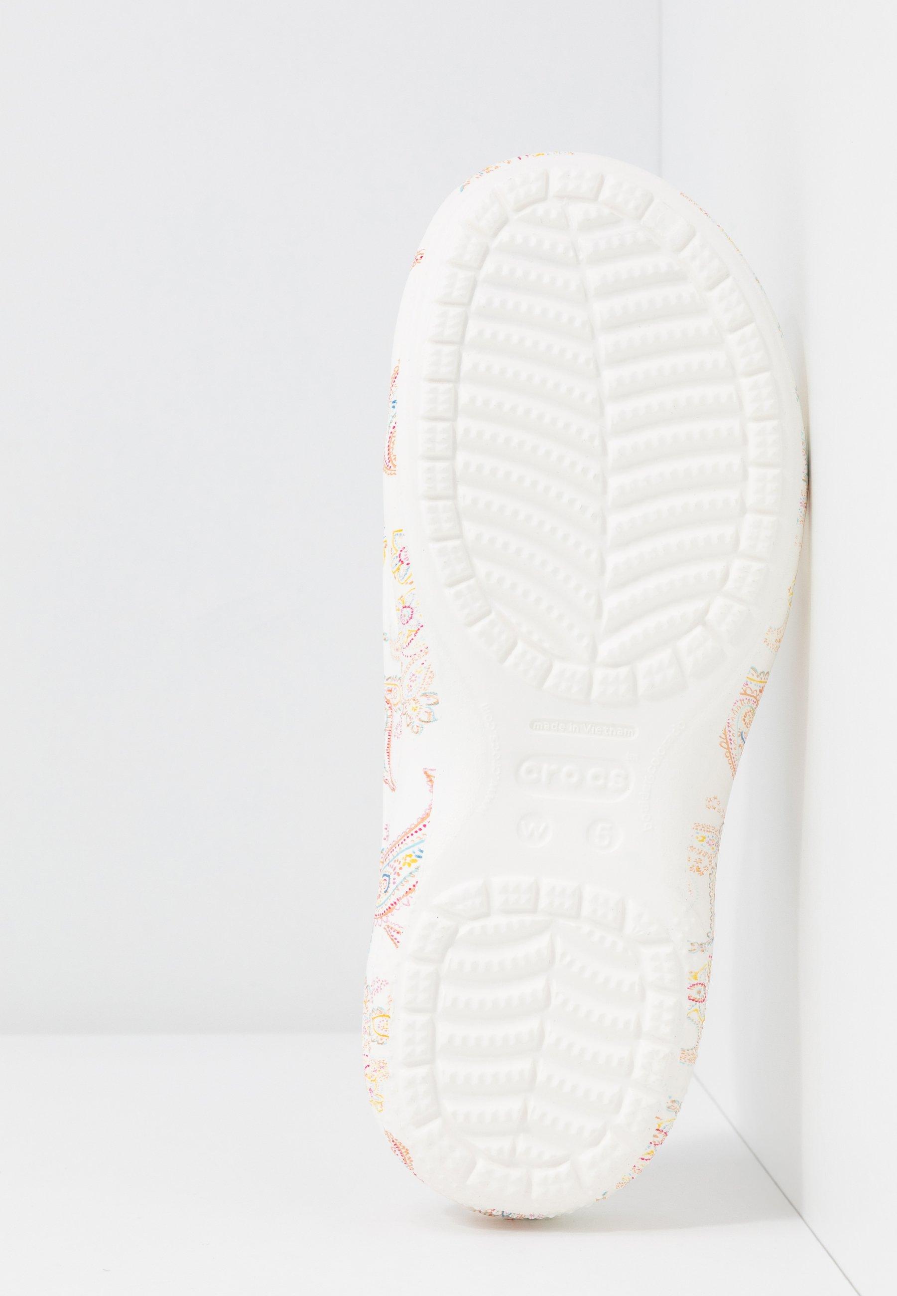Crocs Freesail Florals - Tofflor & Inneskor White