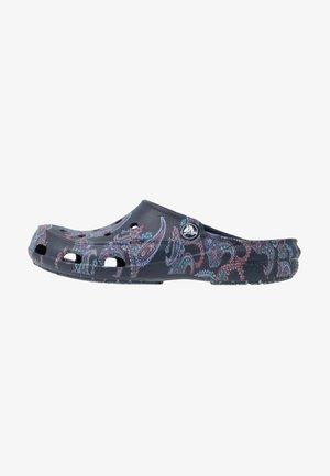FREESAIL FLORALS  - Pantofle - navy