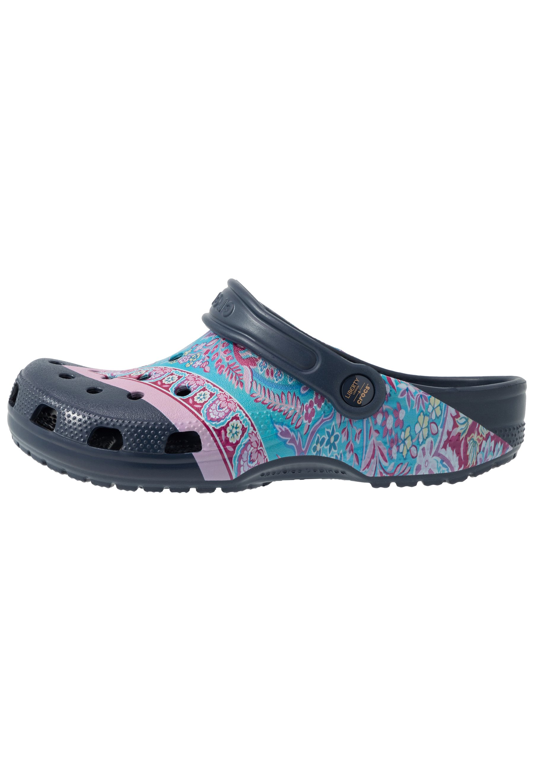 Crocs Classic Liberty Graphic - Badsandaler Navy