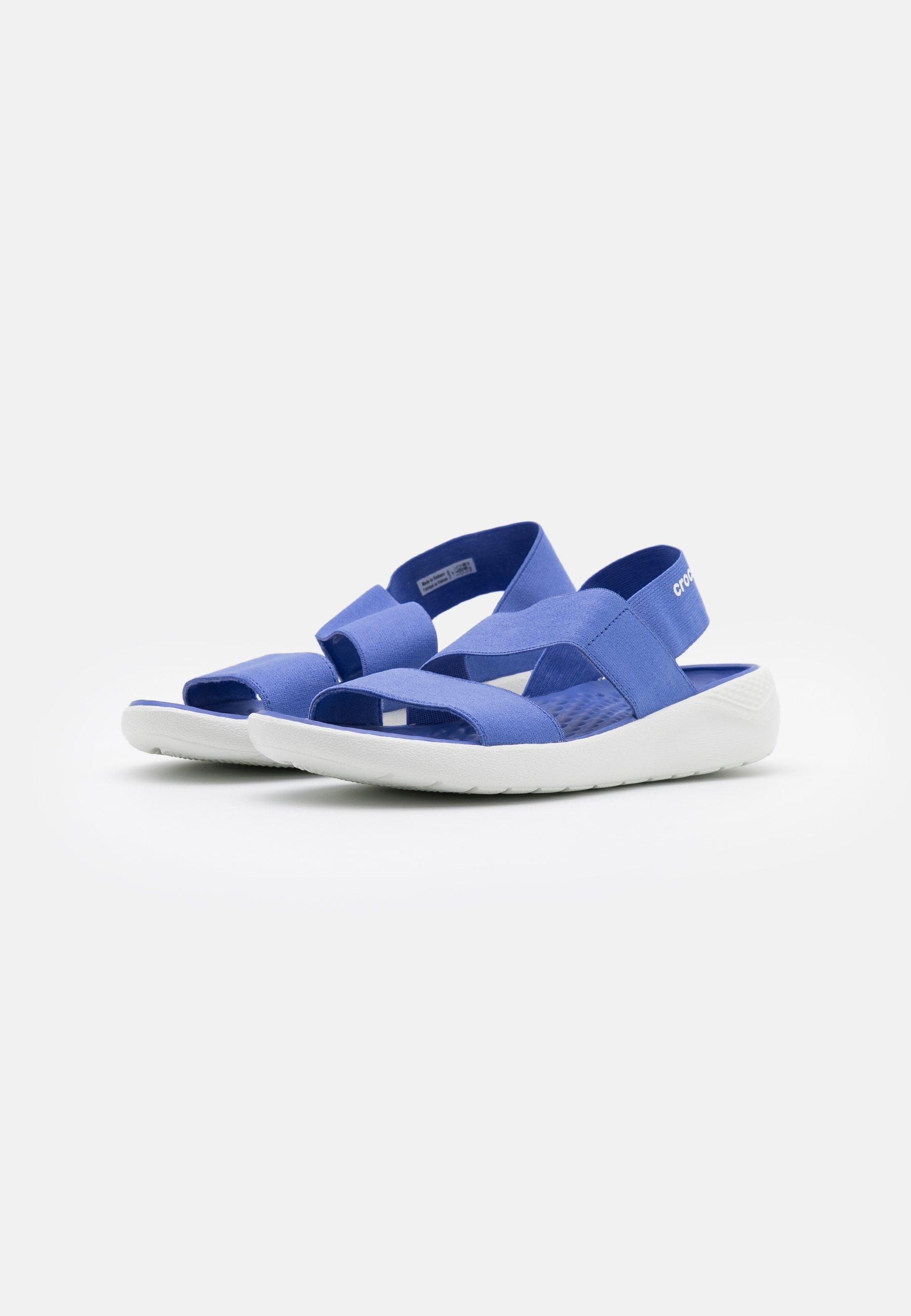 Crocs LITERIDE STRETCH  - Hausschuh - lapis/white g794vX