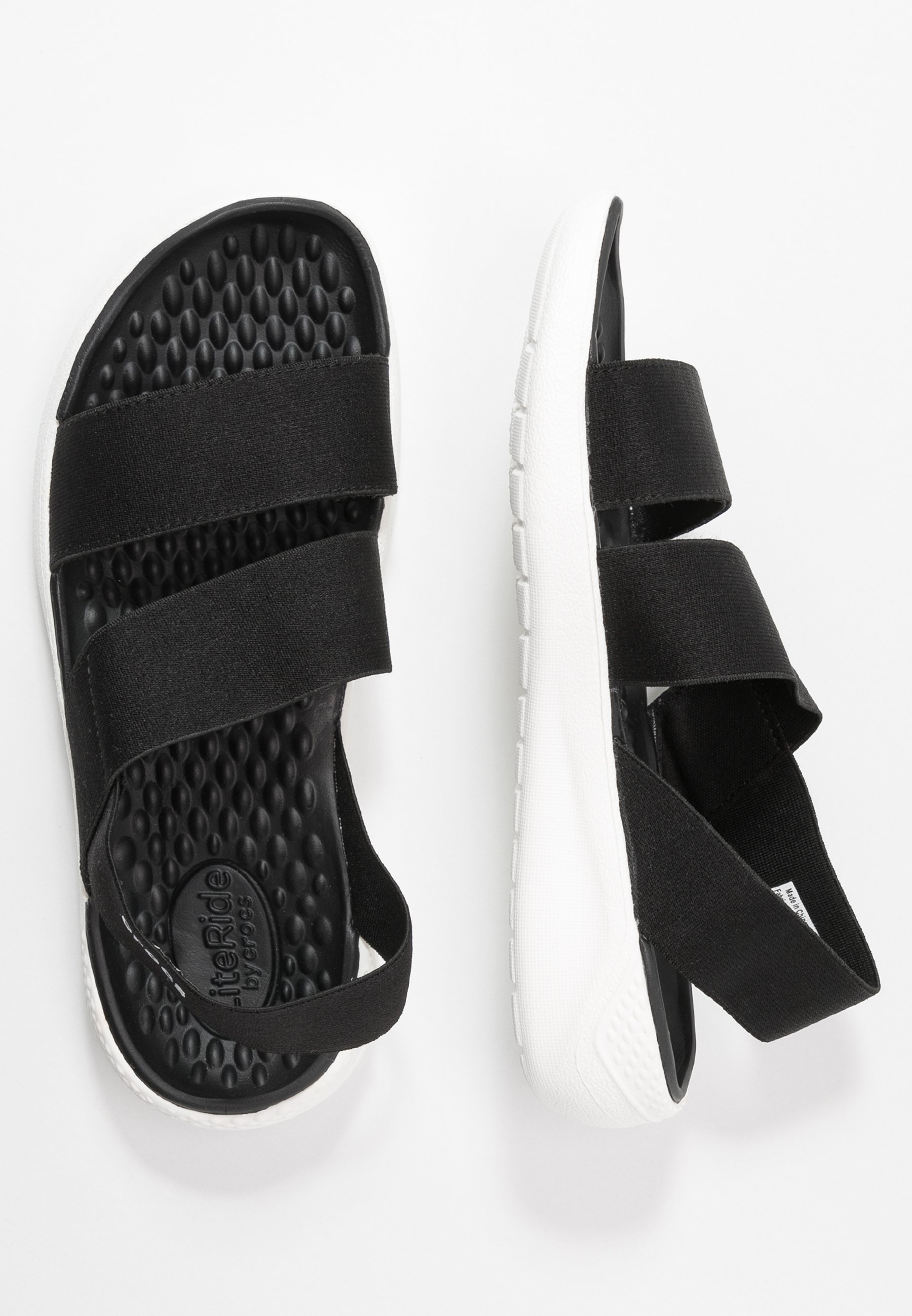 Crocs Literide Stretch - Sandales Black