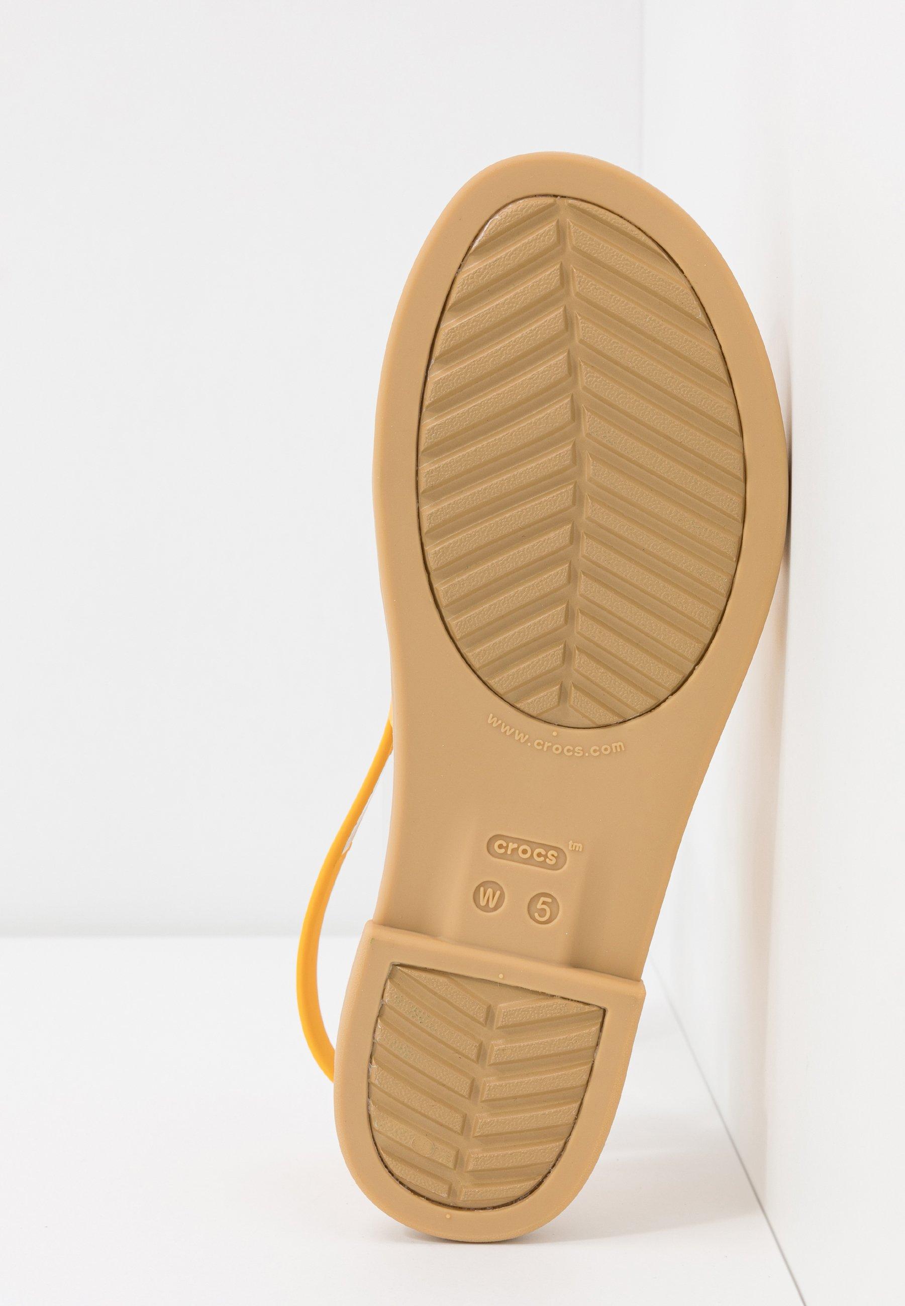 Crocs Tulum - Sandales De Bain Canary/tan