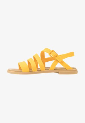 TULUM - Badslippers - canary/tan