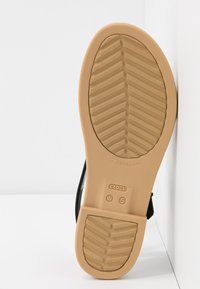 Crocs - TULUM - Chaussons - black/tan - 6
