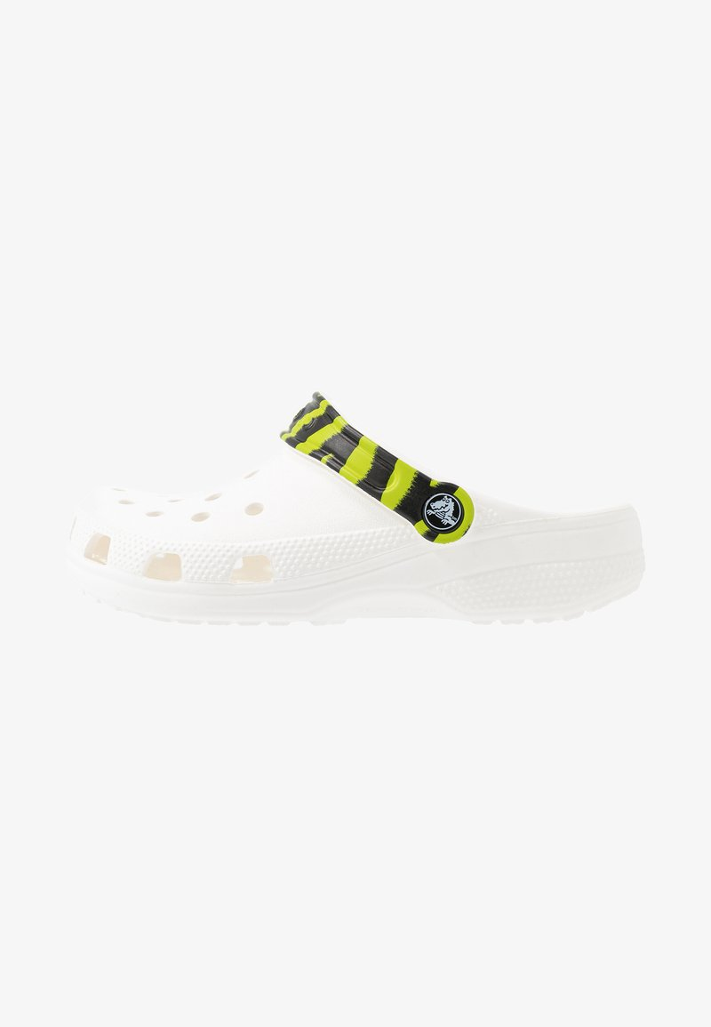 Crocs - CLASSIC POP STRAP  - Mules - white