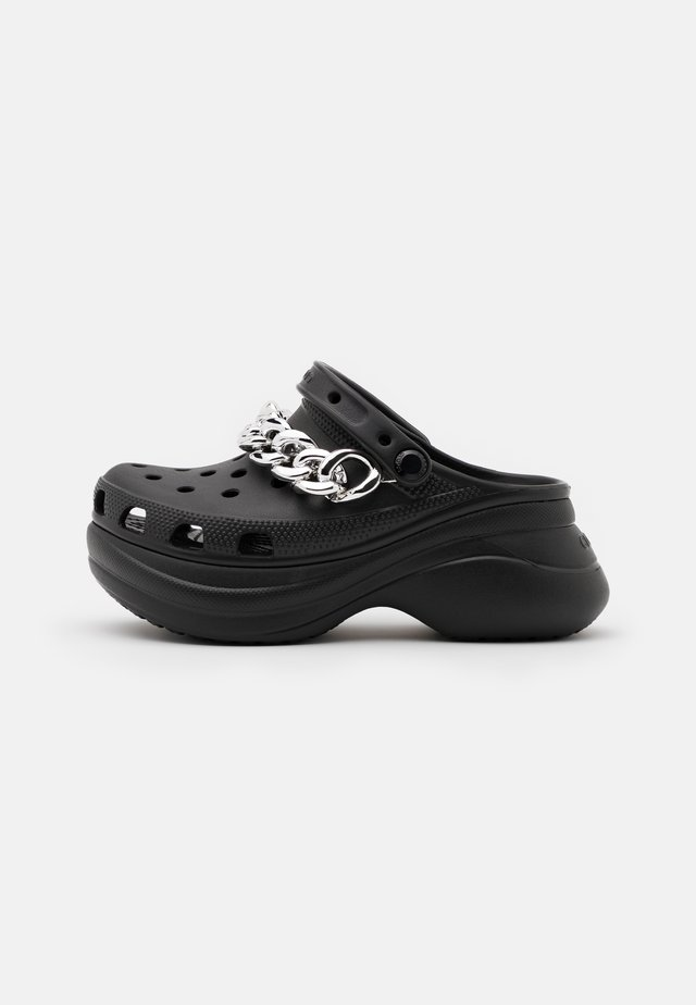 CLASSIC  - Slip-ins med klack - black/silver