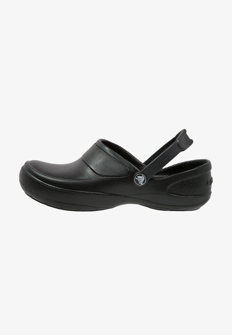 Crocs - MERCY WORK - Ciabattine - black