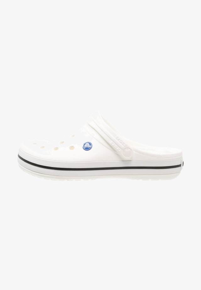 CROCBAND - Clogs - white