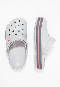 Crocs - CROCBAND - Dřeváky - grey - 1