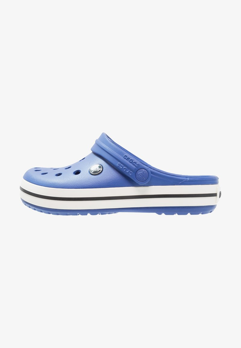 Crocs - CROCBAND UNISEX RELAXED FIT - Pool slides - cerulean blue/oyster