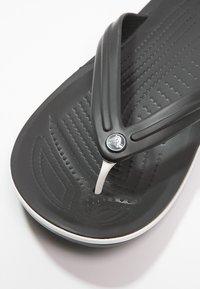 Crocs - CROCBAND FLIP - Pool shoes - black - 5
