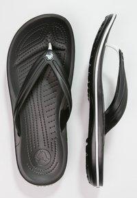 Crocs - CROCBAND FLIP UNISEX - Japonki kąpielowe - black - 1