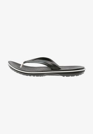 CROCBAND FLIP - Teenslippers - black