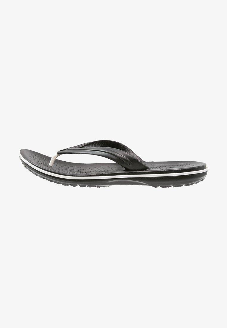 Crocs - CROCBAND FLIP - Pool shoes - black