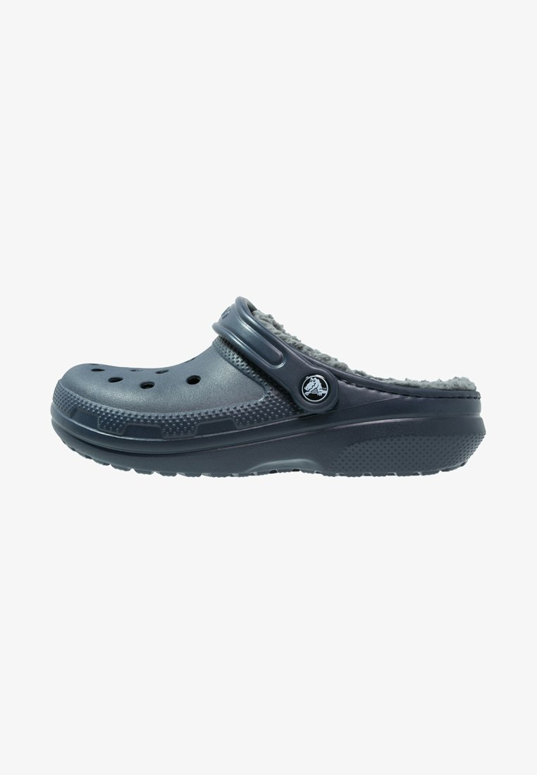 Crocs - CLASSIC LINED ROOMY FIT - Zoccoli - navy/charcoal