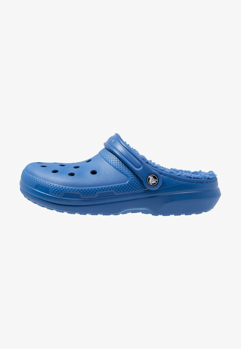 Crocs - CLASSIC LINED ROOMY FIT - Zuecos - blue jean