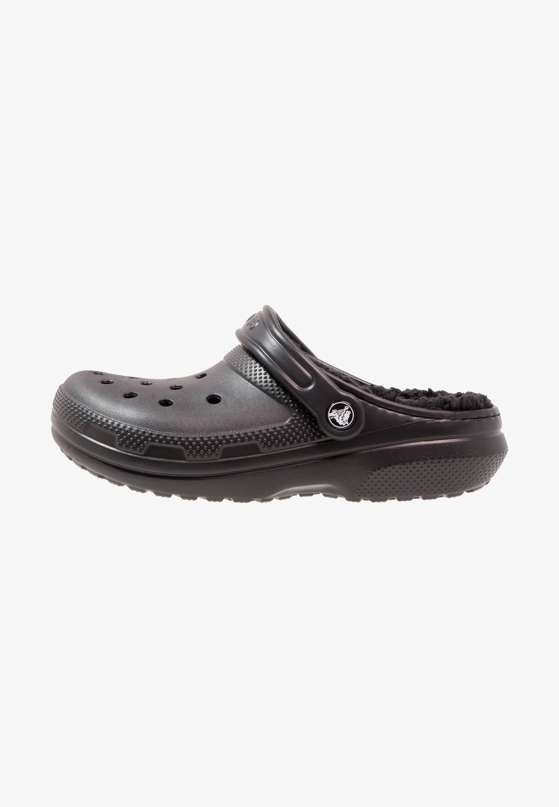 Crocs - CLASSIC LINED ROOMY FIT - Zuecos - black
