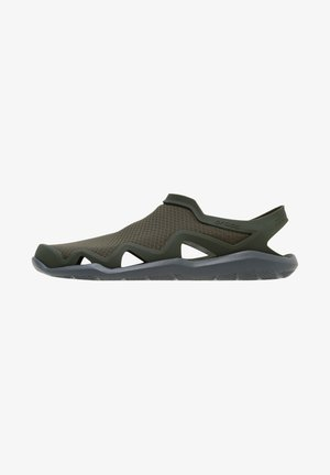 SWIFTWATER WAVE - Sandals - army green/slate grey