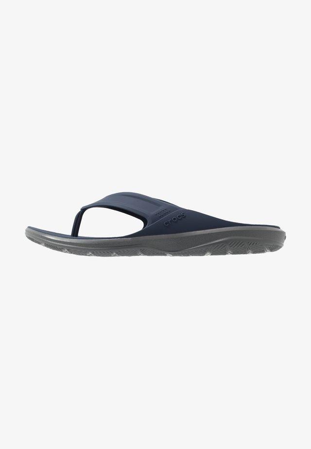 Sandalias de dedo - navy/slate grey