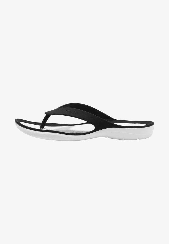 SWIFTWATER - Pool shoes - black/white