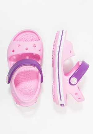 CROCBAND KIDS - Pool slides - carnation/amethyst